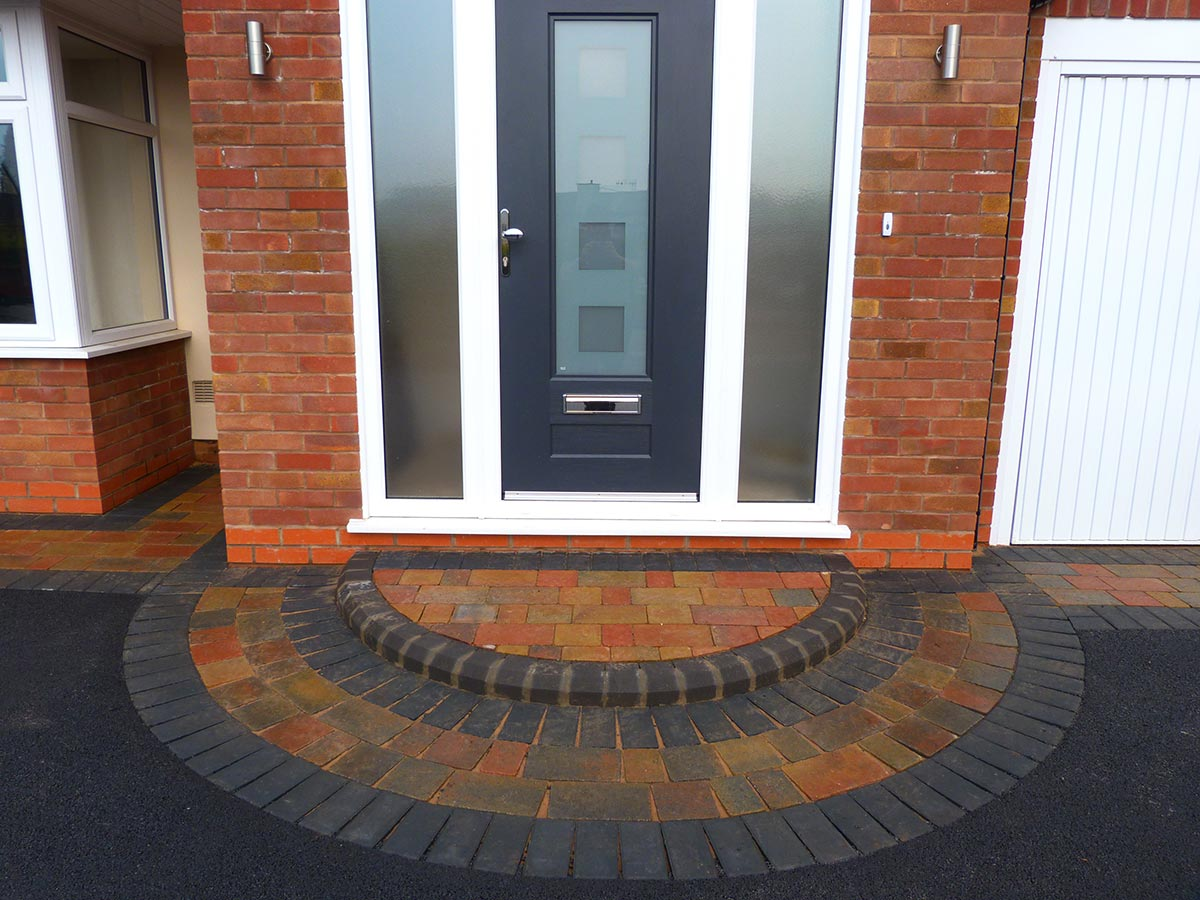 Delicieux Birmingham Based Oakley Drives Install Door Steps, Entrance Patterns And  Ramps. We Cover Solihull, Dorridge, Knowle, Hollywood, Shirley, Stechford,  Wythall, ...